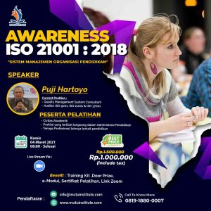 Awareness ISO 21001 2018